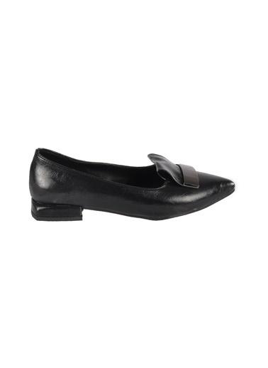 Mhd 149 Platin Kadın Günlük Ayakkabı Siyah